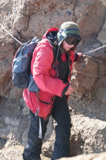 More Laura Climbing